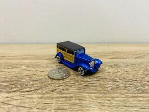 1932 Ford Maisto Fresh Metal 1:64 Blue Woody Wood Panel Van Wagon Die Cast