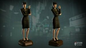 Blade Runner Rachael Fan Art - 3D Resin Printed Figure Garage Kit