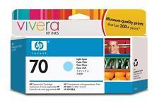 Hp 70 Light Cyan Ink C9390a Para Hp Designjet Z2100 Z3100 130ml 2014