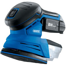 D20 20V Tri-Base (Detail) Sander With 2Ah Battery And Charger Draper 00608