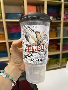 NEWSIES Broadway Musical SIPPY CUP w straw! Chanhassen Dinner Theatre! Extra Lg!