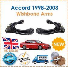 Pour Accord CG8 CH6 CG9 CH7 CH1 1998-2003 Avant Haut Supérieur Bras De Suspension x2