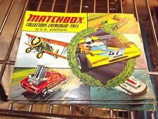 Matchbox 1973 catalogue