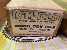 Kim-Glo Hotstart DDV-151 Block Heater 1500W 120V - 9ft HPN cord & Plug
