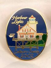 2002 Harbour Lights Collectors Society Cloissone Enameled Lighthouse Lapel Pin