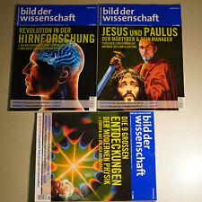 BDW Bild der Wissenschaft Hirnforschung Jesus Paulus moderne Physik 9 11 12 2008
