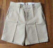 Mens Red Kap Khaki Work Shorts 40x10