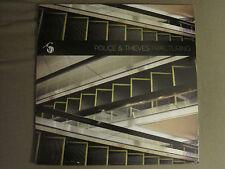 POLICE & THIEVES S/T LP ORIG 2011 YB-34 ROCK W/ DIGITAL DOWNLOAD CODE M SEALED!