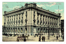Cleveland Ohio U. S. Post Office posted 1912