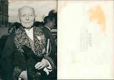 Académicien, à identifier Vintage silver print  Tirage argentique  13x