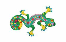 Patch backpack gecko green lizard reptile salamander embroidered iron on / sew