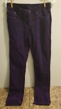 Miley Cyrus Purple Corduroy Pants Girls Size 7