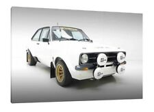 MK 2 Ford Escort RS 1800 - 30x20 Inch Canvas Art Work Framed Picture Print