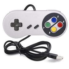 For Nintendo SNES Gamepad USB Controller Gaming Joystick Windows PC MAC Computer
