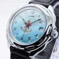 Russische Männer Mechanische Uhren VOSTOK Kommandeuhr Neue Mehrere Optionen