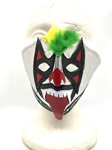Lucha Libre Face Mask Luchador Psycho Clown Kiss Rock Band Music Festival
