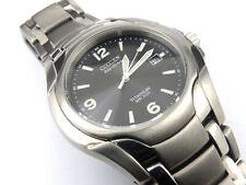 Mens Citizen Titanium Eco Drive Watch E111-K007297 - 100m