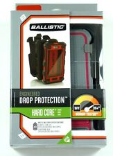 HC0956-M115 BALLISTIC iPhone 5 HC Hard Case with Holster (Charcoal/Raspberry)