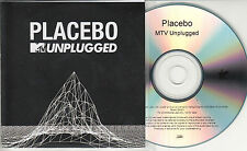 PLACEBO MTV Unplugged 2015 UK numbered 17-track promo test CD