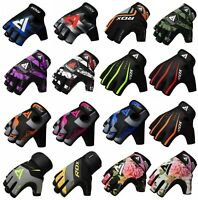 RDX Weight Lifting Gloves Gym Training Workout Bodybuilding Wrist Support