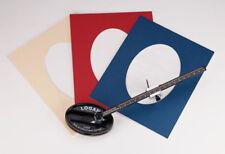 Logan 201 cercle ovale et Tapis de montage/Cutter