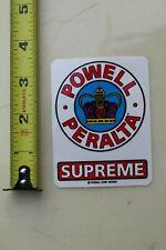 Supreme Powell Peralta Bones Dogtown Royal Crown Vintage Skateboarding STICKER