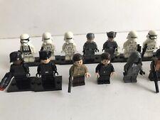 Lego Star Wars: First Order & Rebels -Stormtrooper & Officers Mini Figs X 17