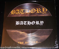 Bathory: The Return - Limited Picture Disc Edition LP Vinyl Record 2014 UK NEW