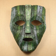 New Green The Loki Mask Movie Prop Memorabilia Replica Resin Mask New M3