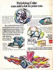 1970 COCA-COLA / COKE  ~ TOP FUEL DRAG RACING  ~  ORIGINAL PRINT AD
