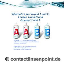 System A und B, 4 x360 ml, Alternative zu Proxcid 1 u 2  / 3,08 Euro pro 100ml