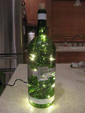 Hummer H2 Humvee Lighted Wine Bottle Man Cave Bar Night Light Handmade Craft
