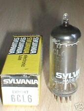 NOS NIB  6CL6 / CV5041 / 6677 SYLVANIA TUBES