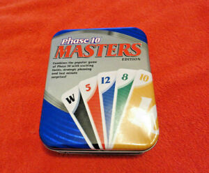 Phase 10 Masters Edition in Tin Complete