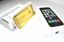 The 24K GOLD PLATED Apple iPhone 5s - 32GB  (Factory Unlocked) Smartphone