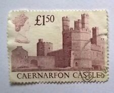 Great Britain stamps - Caernarfon Castle - FREE P & P