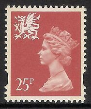 Wales 1993 W73 25p litho 2 bands Machin Definitive MNH