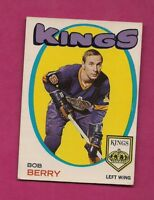 1971-72 OPC # 76 KINGS BOB BERRY  ROOKIE EX+  CARD  (INV# A6083)