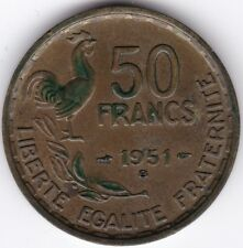 1951 B FRANCIA 50 FRANCHI *** Da collezione *** UNC ***