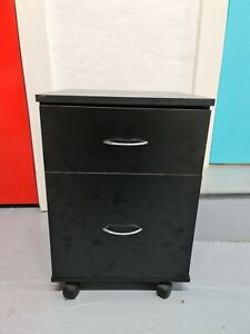 under desk black pedestal