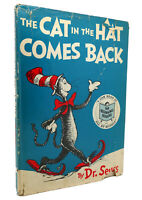 Dr. Seuss THE CAT IN THE HAT COMES BACK  1st Edition Early Printing