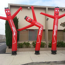 20ft Custom Wind Dancer Air Puppet Sky Wavy Man Dancing Inflatable Tube + Blower