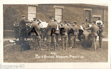 Regimental Band Oxford & Bucks Light Infantry at morning practice Shorncliffe ?