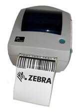 Zebra LP2844 Thermal Barcode Label Printer USB Serial Parallel + Power Supply