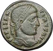 Constantine I the Great 324AD  Ancient Roman Coin Wreath of success  i40843