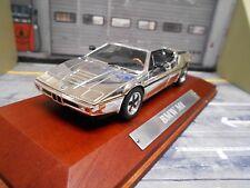 Bmw m1 super voiture de sport 1979 Chrome Chrome Edition Argent Prix Spécial IXO at 1:43