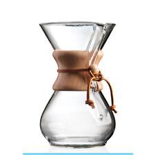 Chemex CM-6A CoffeeMaker Classic Series Wood Glass 6 Cup Coffee Hand Drip