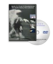 Apollo 13, 15, 16 NASA Manned Moon Space Missions DVD - A129