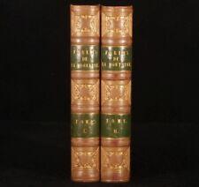 1843 2v FABLES de la FONTAINE Grandville Illustrations