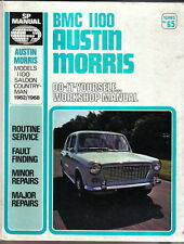 BMC 1100 Austin Morris Saloon & Countryman DIY Workshop Manual 1962-68 SP Manual